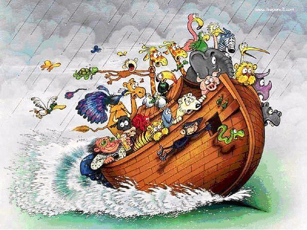 Caricaturas del arca de noe - Imagui