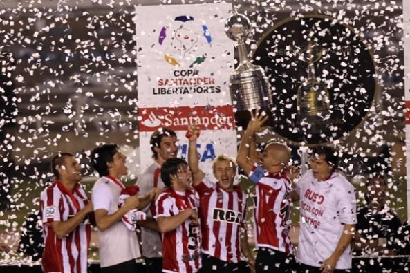 Campeon America 2009 Estudiantes de La Plata 2