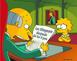 simpson despues de las 9
